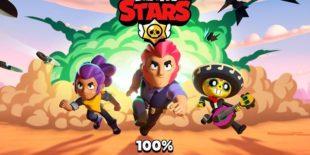Brawl Stars зависает при подключении к бою на 100%