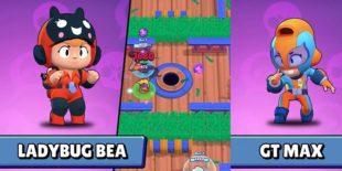 Новые бойцы в Brawl Stars — Bea «Пчела» и Max «Макс»