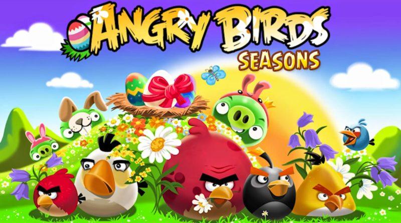 Angry Birds Seasons: победи подлых свиней